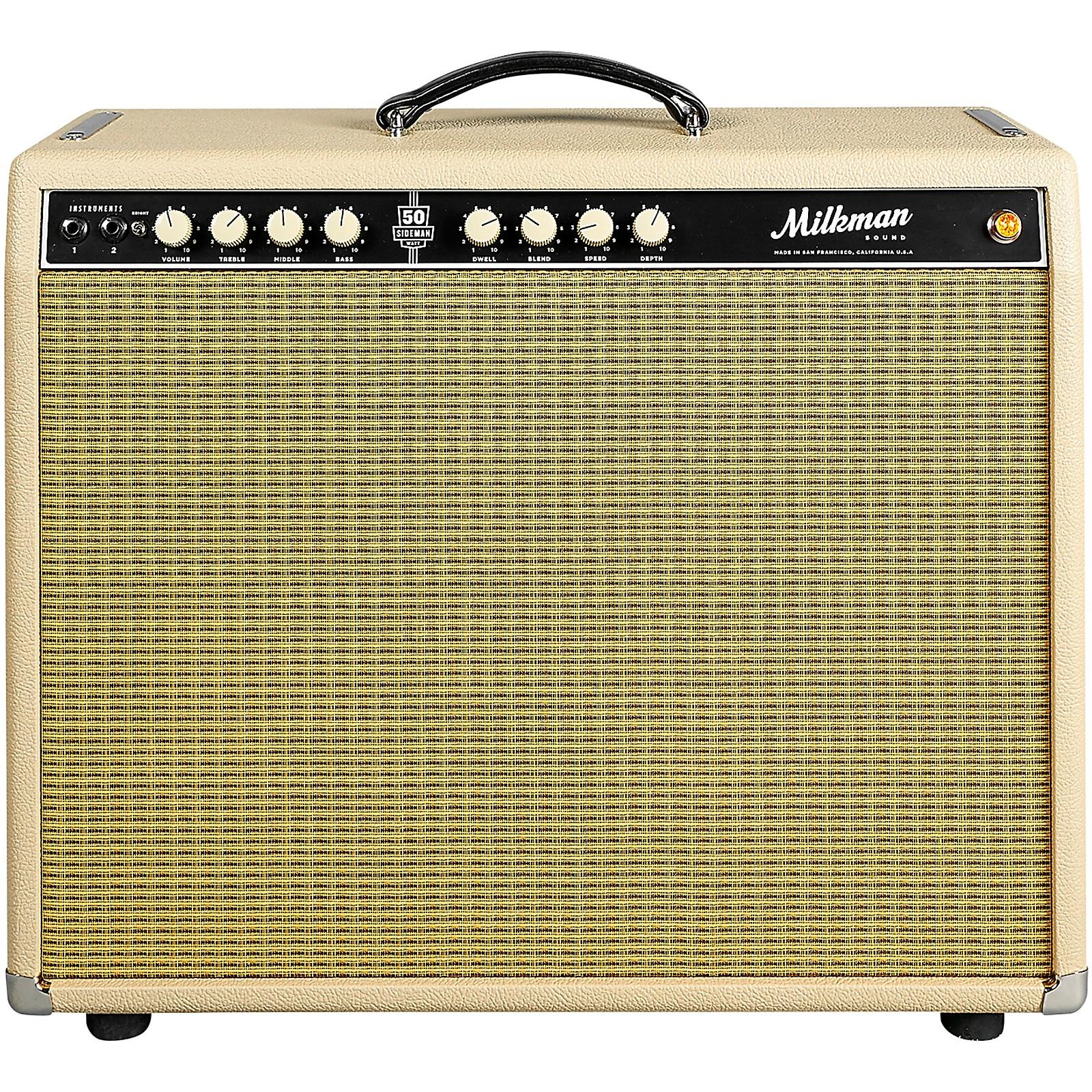 Open Box Milkman Sound 50W Sideman 50W 1x12 Tube Guitar Combo Amp