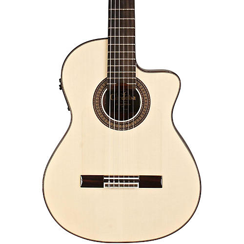 Open Box Cordoba 55FCE Flamenco Macassar Ebony Acoustic-Electric Nylon String Flamenco Guitar