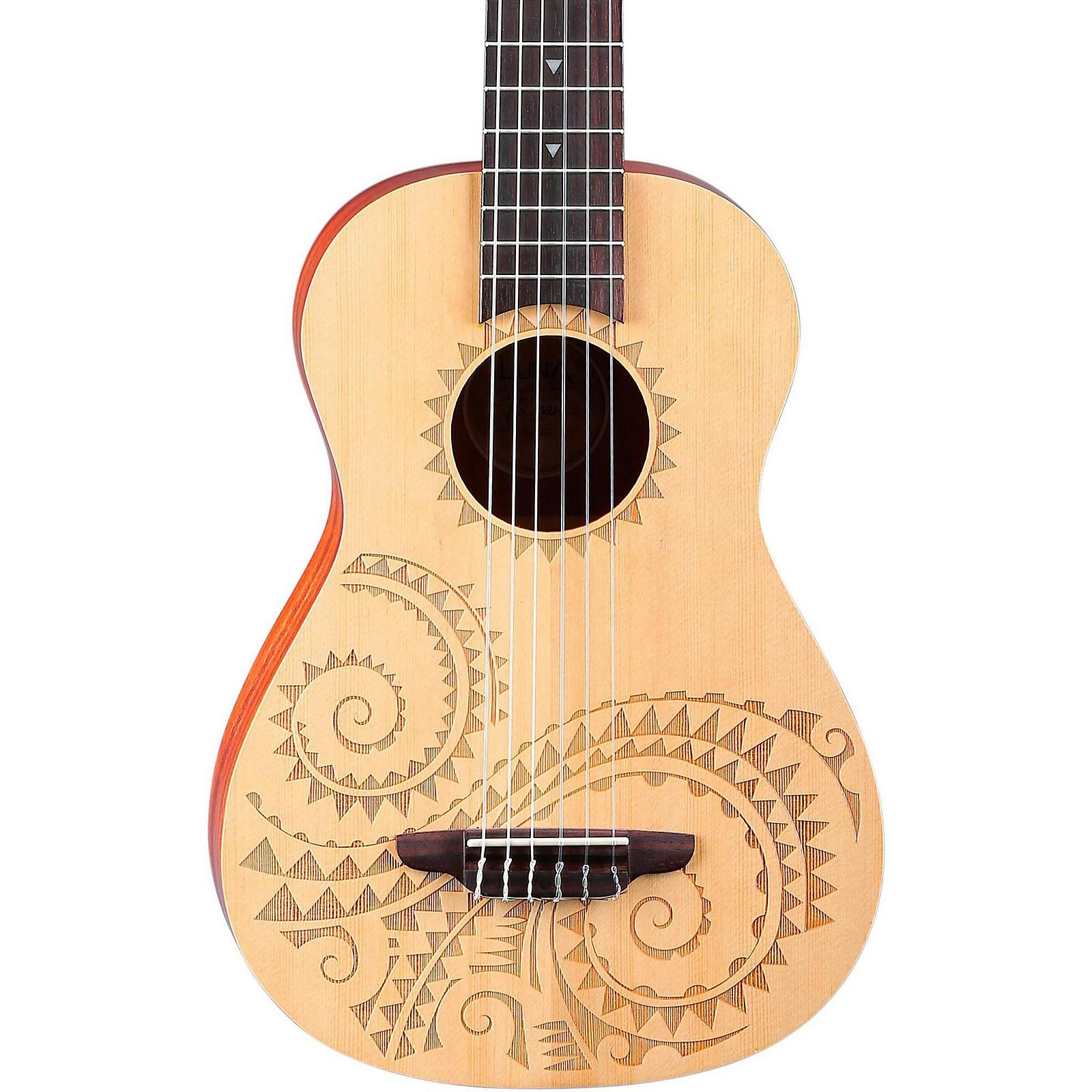 Open Box Luna Guitars 6-String Baritone Ukulele