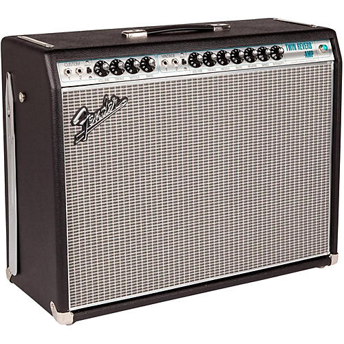 Open Box Fender '68 Custom Twin Reverb 85W 2x12 Tube Guitar Combo Amp with Celestion G12V-70s Speaker