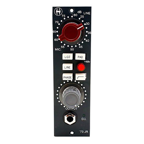 Open Box Heritage Audio '73 Junior 500 Series Microphone Preamp