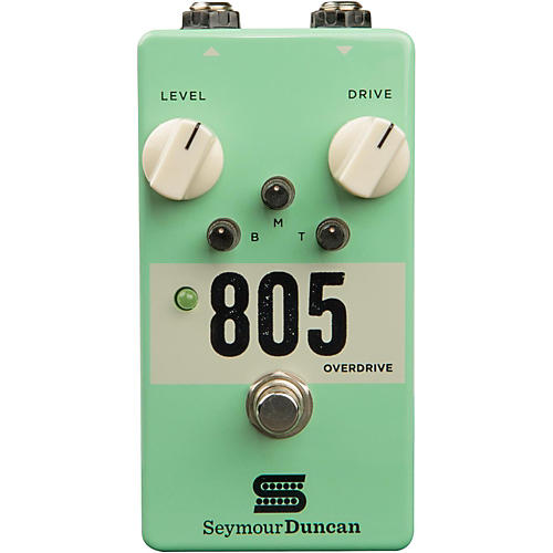 Open Box Seymour Duncan 805 Overdrive Guitar Effects Pedal