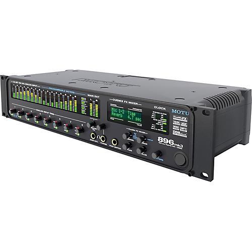 Open Box MOTU 896mk3 Hybrid