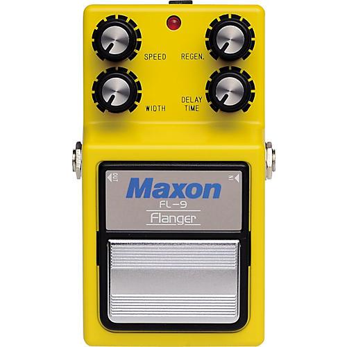 Open Box Maxon 9-Series FL-9 Flanger Pedal
