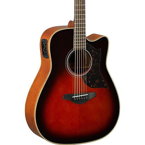 Open Box Yamaha A-Series A1M Cutaway Dreadnought Acoustic-Electric Guitar