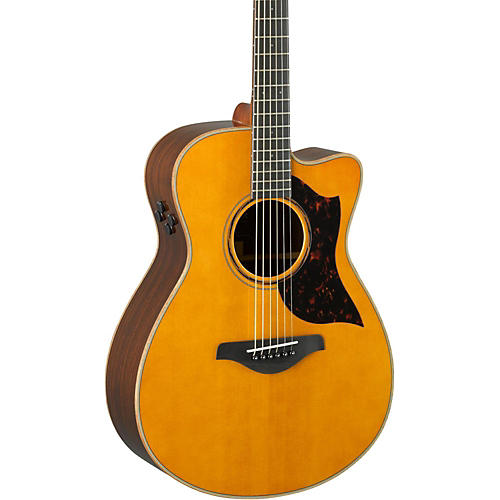 Open Box Yamaha A-Series AC3R Concert Cutaway Acoustic-Electric Guitar