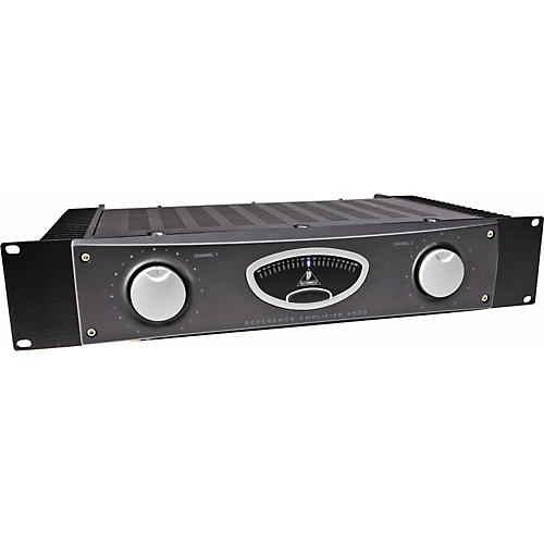 Open Box Behringer A500 600W Reference-Class Studio Power Amplifier