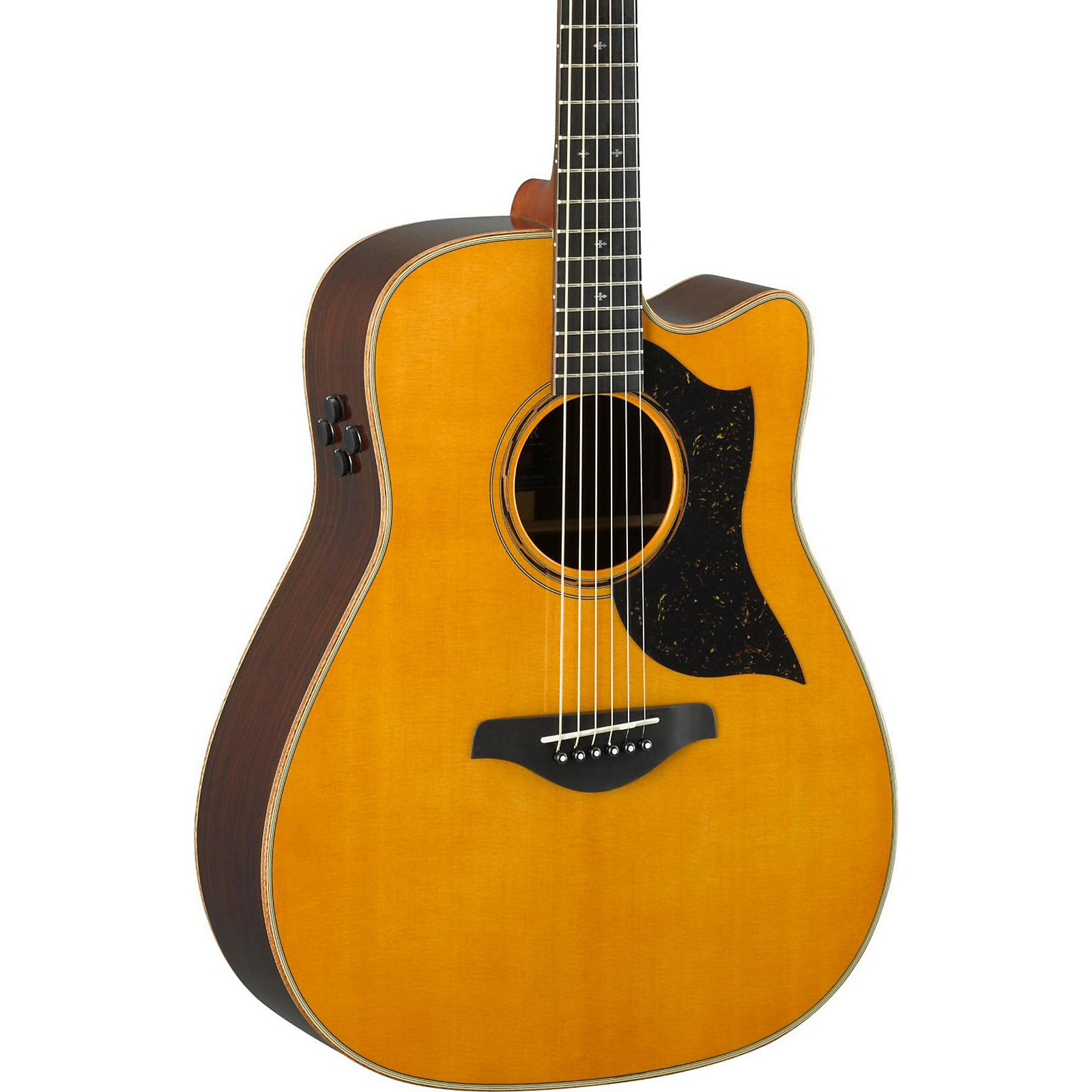 Open Box Yamaha A5R A-Series Folk Acoustic-Electric Guitar