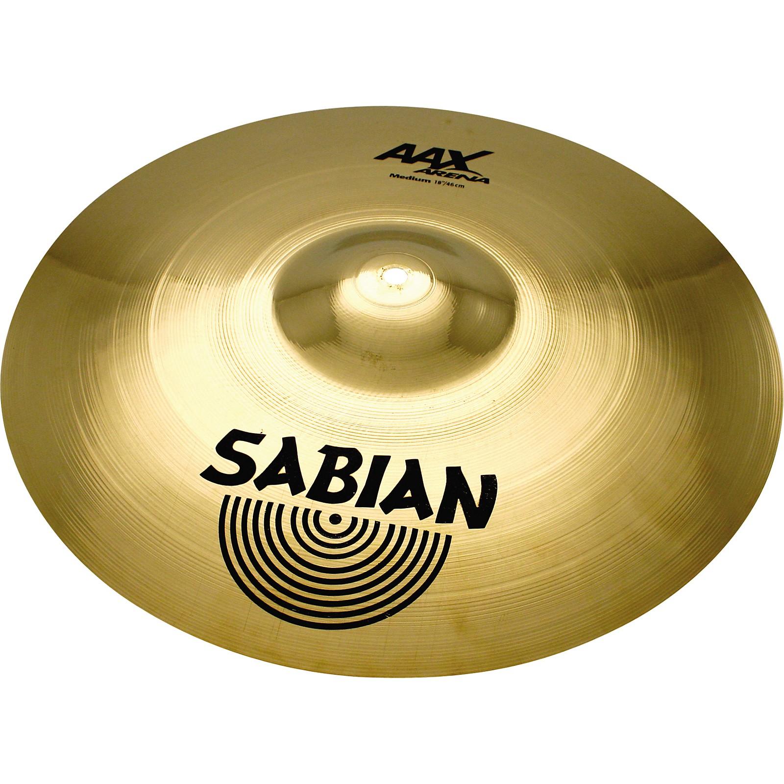 Open Box Sabian AAX Arena Medium Marching Cymbal Pairs