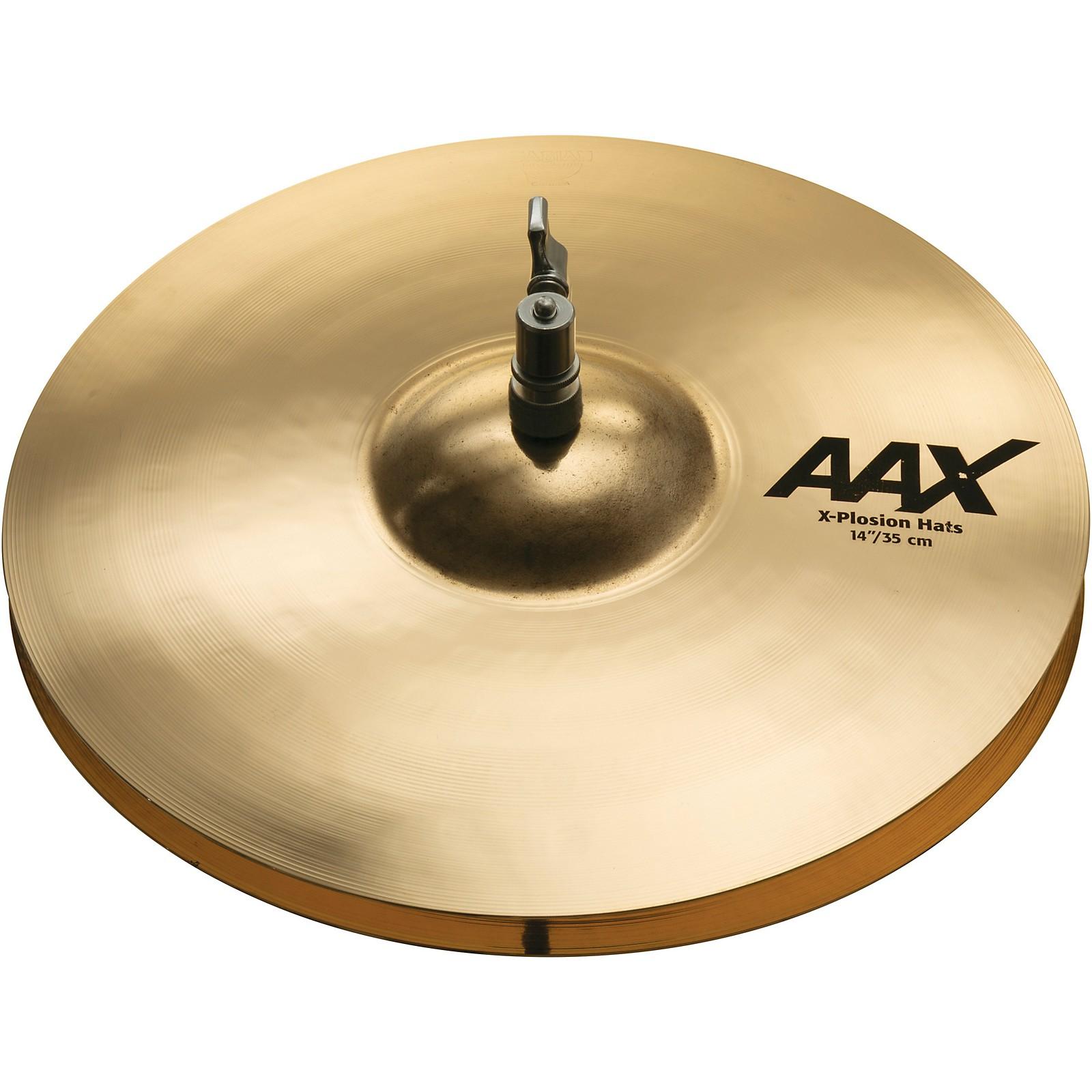 Open Box Sabian AAX X-Plosion Hi-Hat Cymbals Brilliant