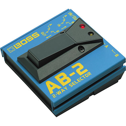 Open Box Boss AB-2 2-Way Selector Pedal