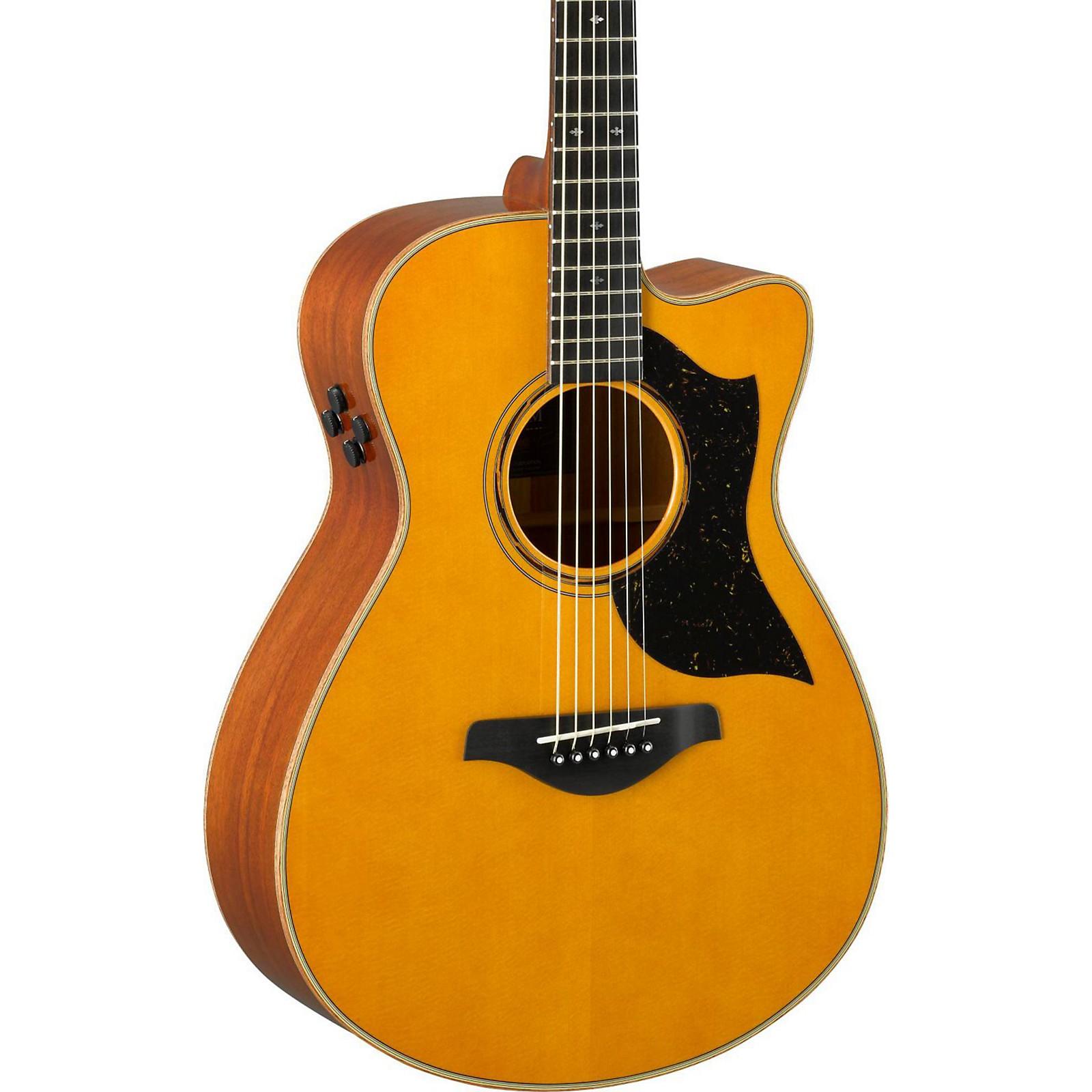 Open Box Yamaha AC5M A-Series Concert Acoustic-Electric Guitar