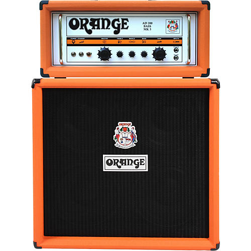 Open Box Orange Amplifiers AD Series AD200B 200W Tube Bass Amp Head