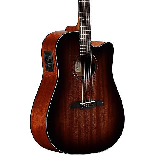 Open Box Alvarez AD66CESHB Dreadnought Acoustic-Electric Guitar