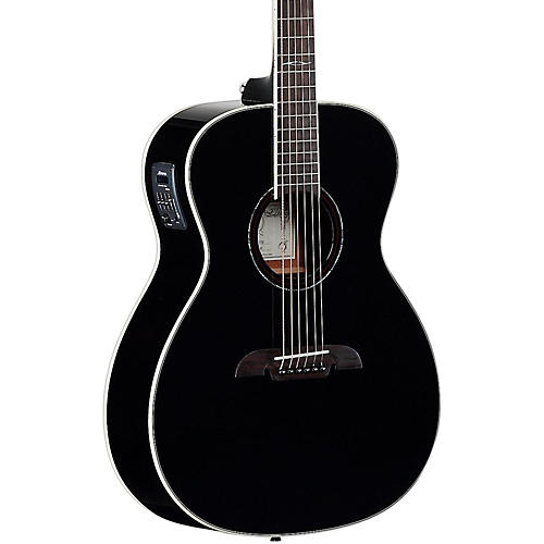 Open Box Alvarez AF610EBK Folk Acoustic-Electric Guitar