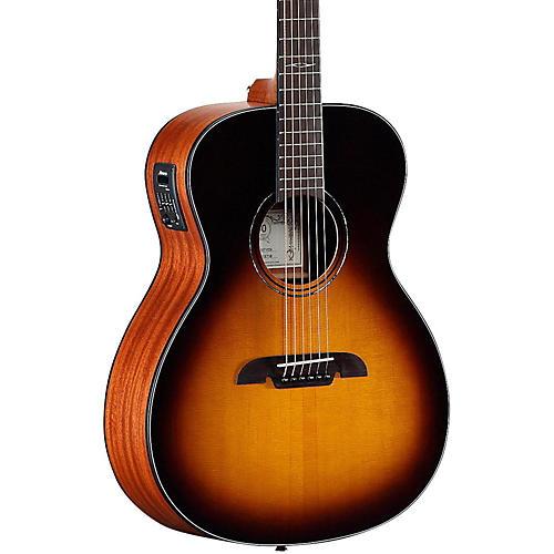 Open Box Alvarez AF610ESB Folk Acoustic-Electric Guitar