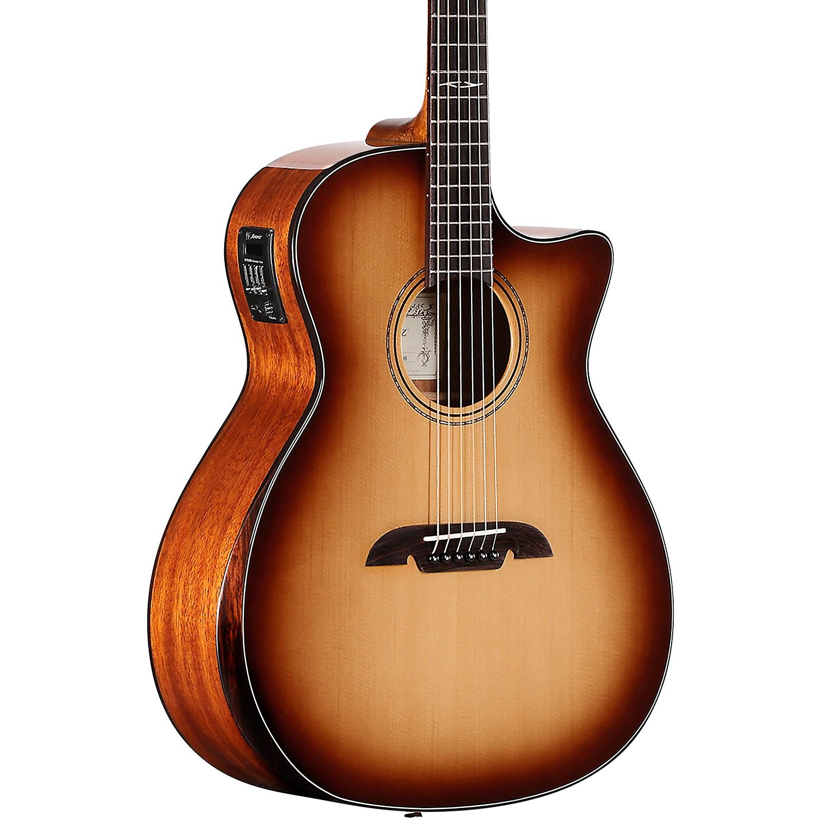 Open Box Alvarez AG610CEAR Grand Auditorium Acoustic-Electric Guitar