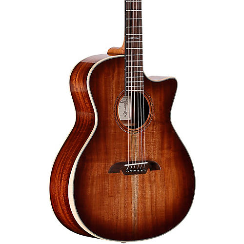 Open Box Alvarez AG990CEAR-SHB Artist Series Grand Auditorium Acoustic-Electric Guitar
