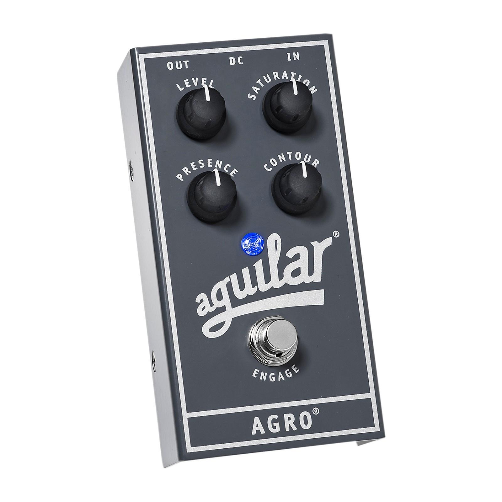 Open Box Aguilar AGRO Bass Overdrive Bass Effects Pedal