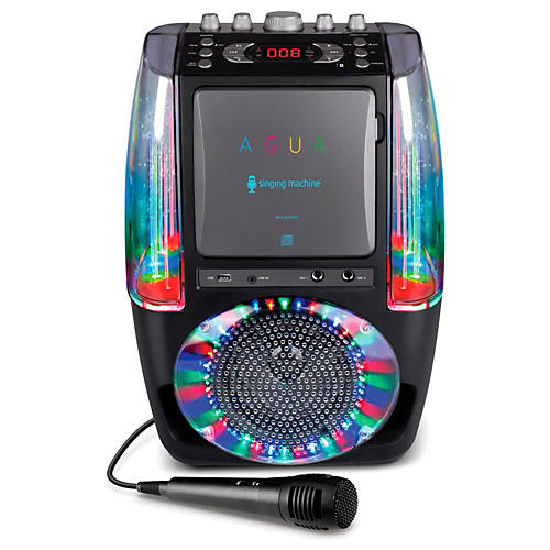 Open Box The Singing Machine AGUA Karaoke System