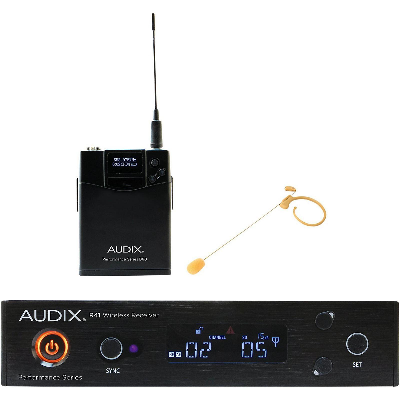 Open Box Audix AP41HT7BG Headset Wireless system w/ HT7 Omni Condenser mic - Beige