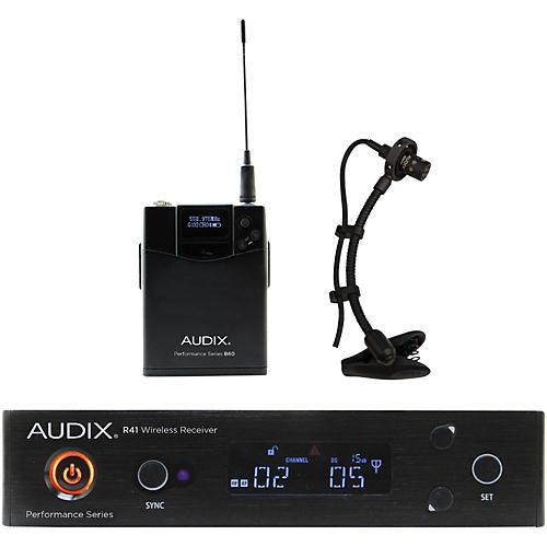 Open Box Audix AP41SAX Instrument Wireless System w/ ADX20i Clip-On Instrument Condenser mic