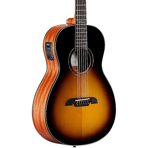 Open Box Alvarez AP610ETSB Parlor Acoustic-Electric Guitar