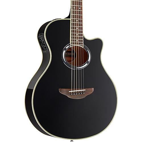 Open Box Yamaha APX500III Thinline Cutaway Acoustic-Electric Guitar