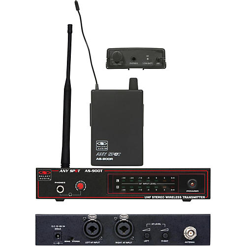 Open Box Galaxy Audio AS-900 Wireless Personal System