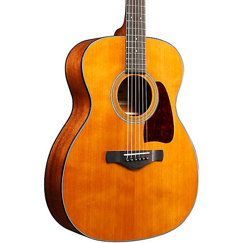 Open Box Ibanez AV4CE Artwood Vintage Grand Concert Acoustic Guitar with Thermo Aged Top