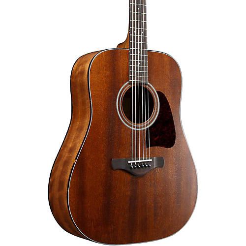 Open Box Ibanez AVD9MHOPN Artwood Vintage Thermo Aged Solid Top Mahogany Acoustic Guitar