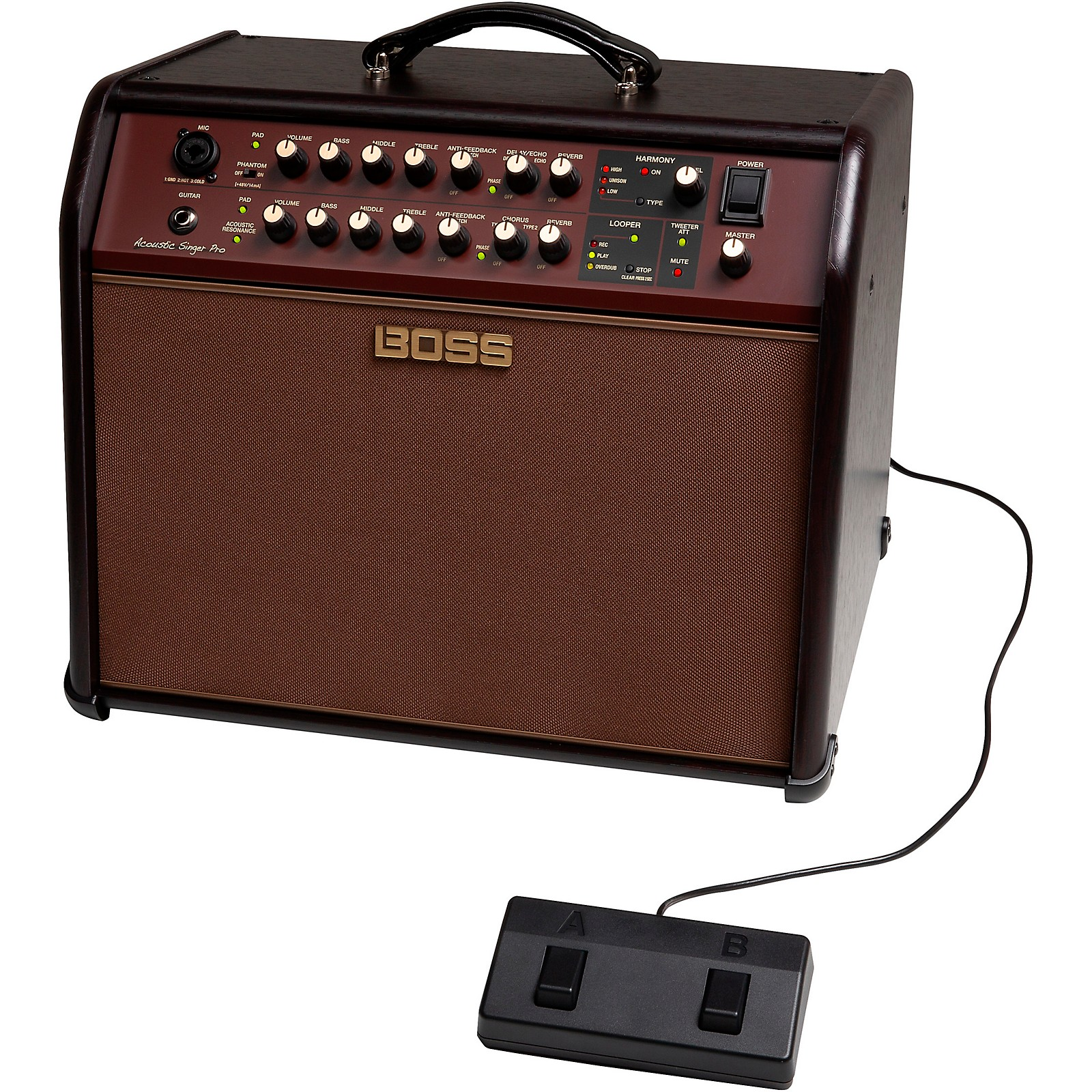 Open Box Boss Acoustic Singer Pro 120W 1x8 Acoustic Guitar Combo Amplifier