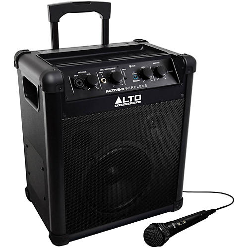 Open Box Alto Active-8 Wireless Portable Rechargeable PA with Bluetooth
