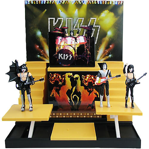 Open Box KISS Alive II Stage with 1:20 Scale Action Figures - Deluxe Box Set #1 - Convention Exclusive