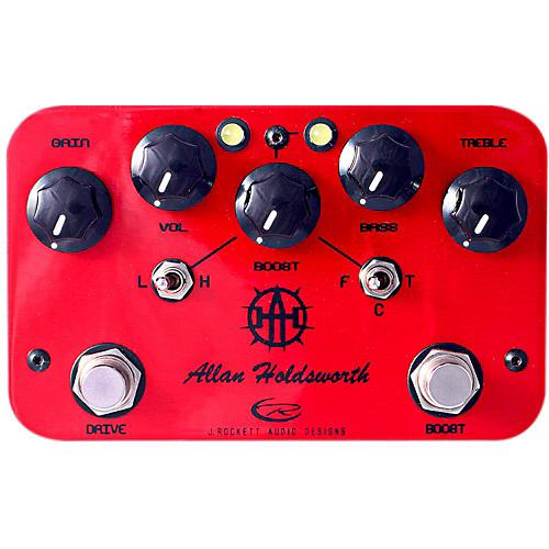 Open Box Rockett Pedals Allan Holdsworth Overdrive/Boost Guitar Effects Pedal