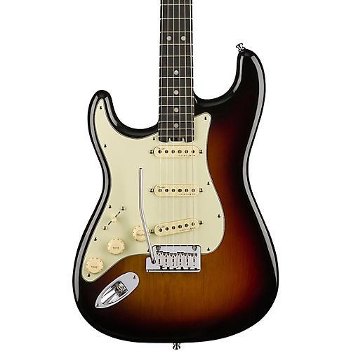 Open Box Fender American Elite Stratocaster Left-Handed Ebony Fingerboard