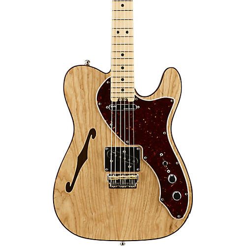 Open Box Fender American Elite Telecaster Thinline Maple Fingerboard Electric Guitar