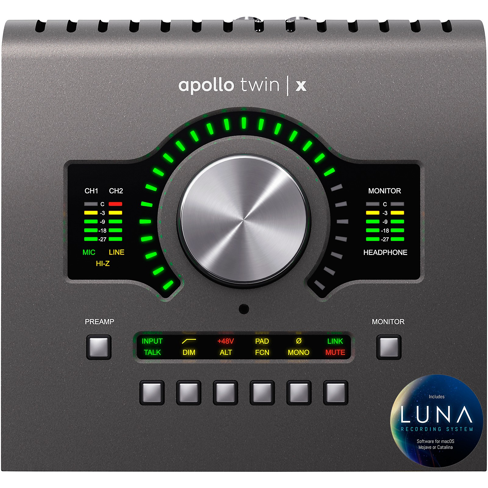 Open Box Universal Audio Apollo Twin X DUO Thunderbolt 3 Audio Interface