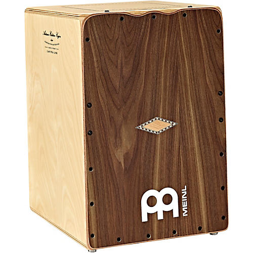 Open Box Meinl Artisan Series Cantina Line Cajon with Walnut Frontplate