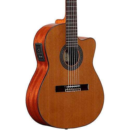 Open Box Alvarez Artist Series AC65HCE Classical Hybrid Acoustic-Electric Guitar