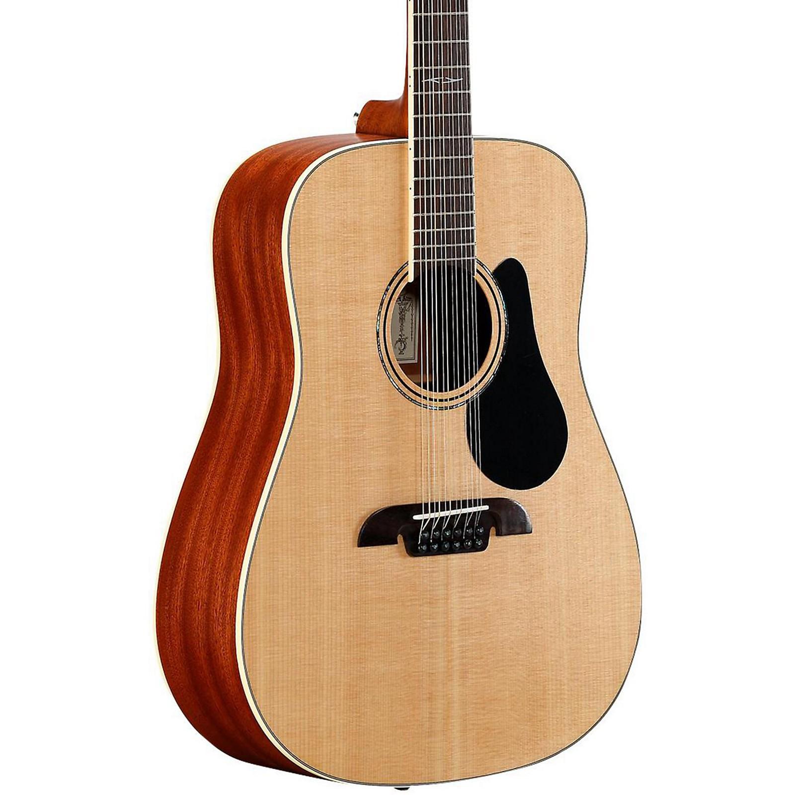 Open Box Alvarez Artist Series AD60-12 Dreadnought Twelve String Acoustic Guitar