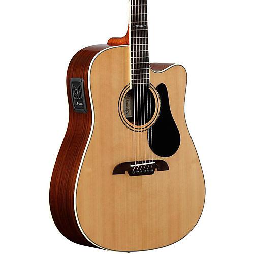 Open Box Alvarez Artist Series AD70CE Dreadnought Acoustic-Electric Guitar