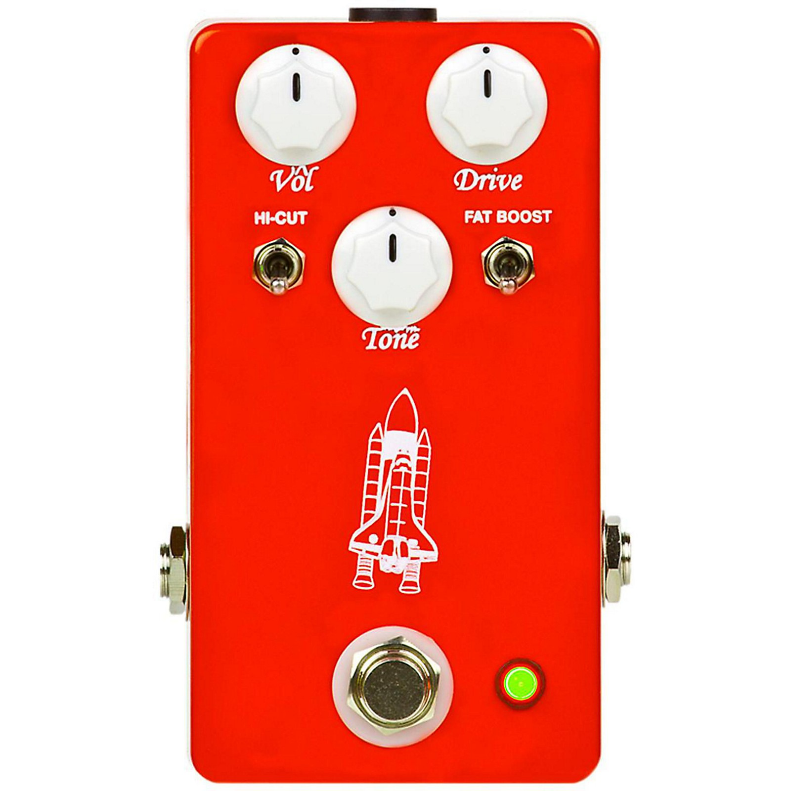 Open Box Throne Room Pedals Atlantis Overdrive Guitar Effects Pedal