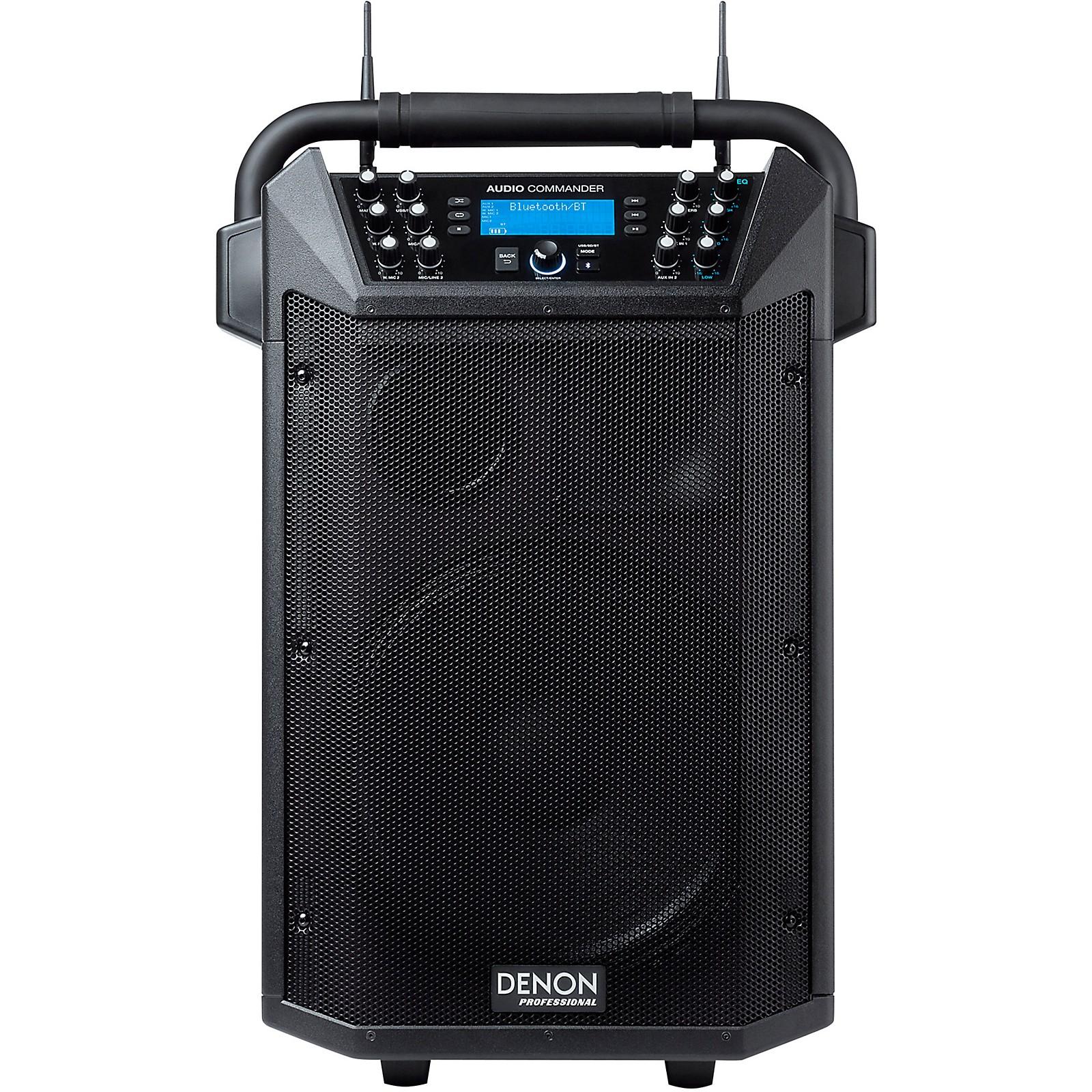 Open Box Denon Professional Audio Commander 200W Wireless Mobile PA System