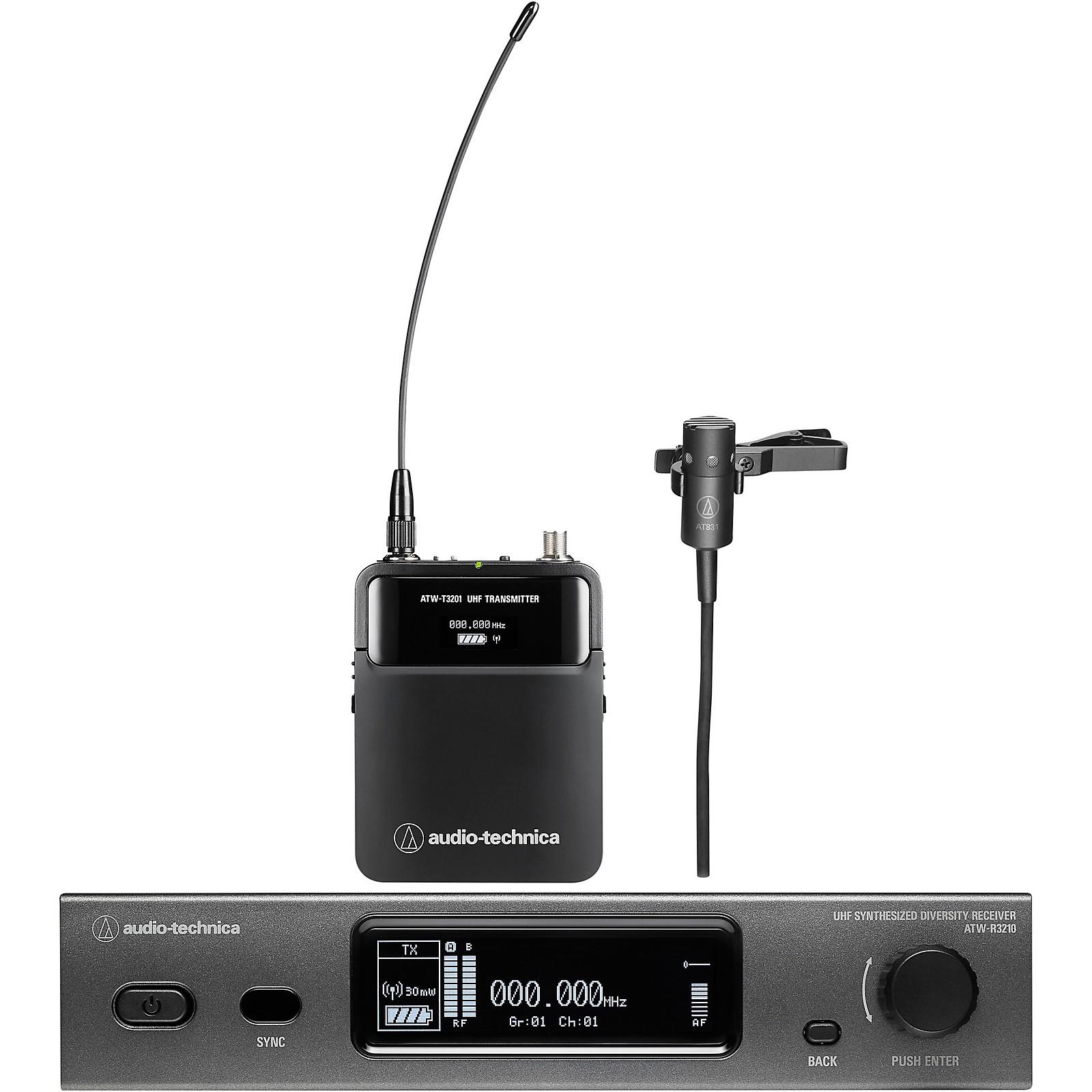 Open Box Audio-Technica Audio-Technica ATW-3211/831 3000 Series Frequency-agile True Diversity UHF Wireless Systems