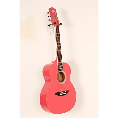 Open Box Luna Guitars Aurora Borealis 3/4 Size Acoustic Guitar