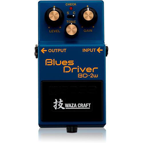 Open Box Boss BD-2W Blues Driver Waza Craft Guitar Effects Pedal