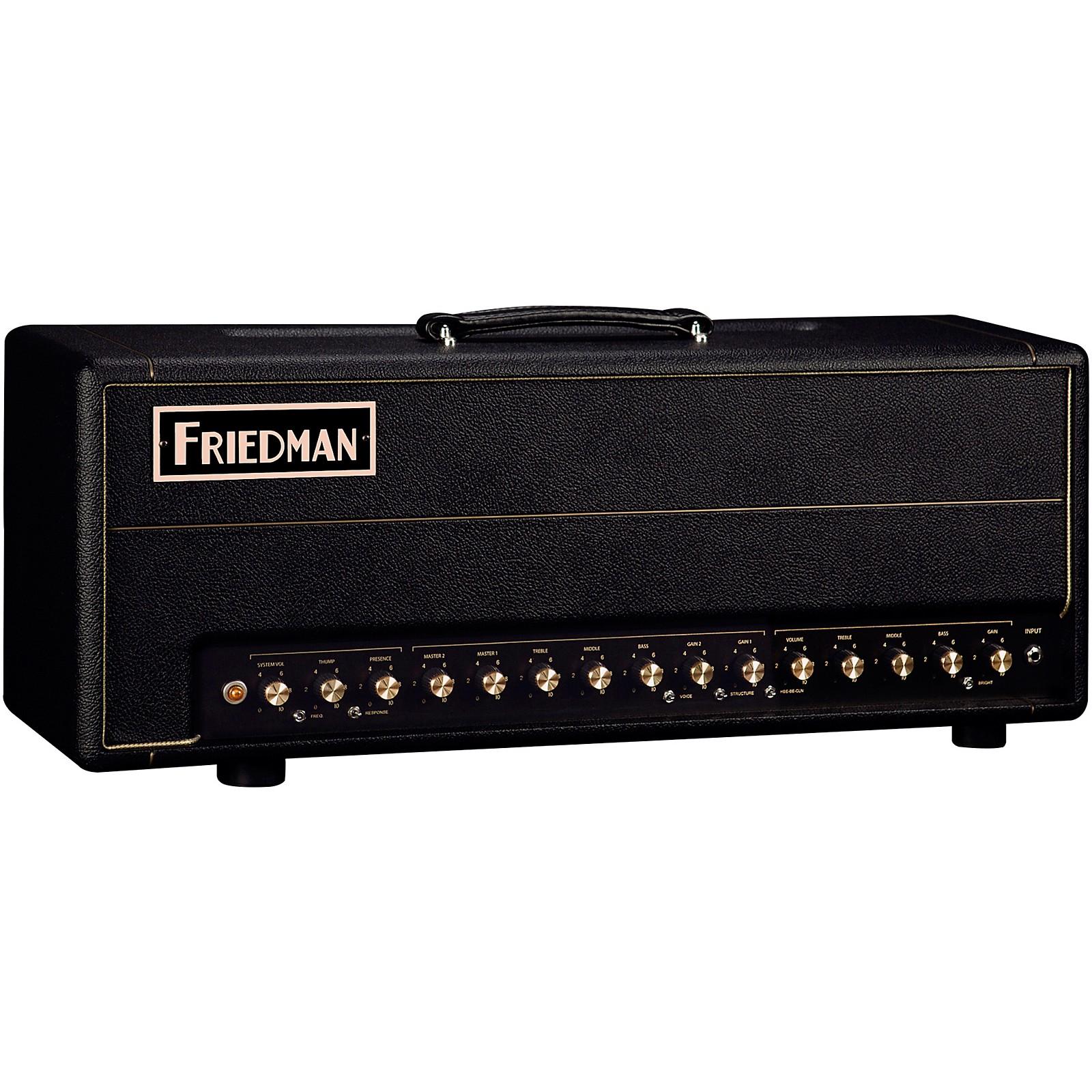 Open Box Friedman BE-100 Deluxe 100W Tube Amp Head