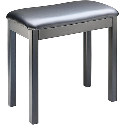 Open Box Stagg BLACK METAL FRAME PIANO BENCH