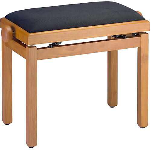 Open Box Stagg BLACK PIANO BENCH,HIGHGLOSS+TOP